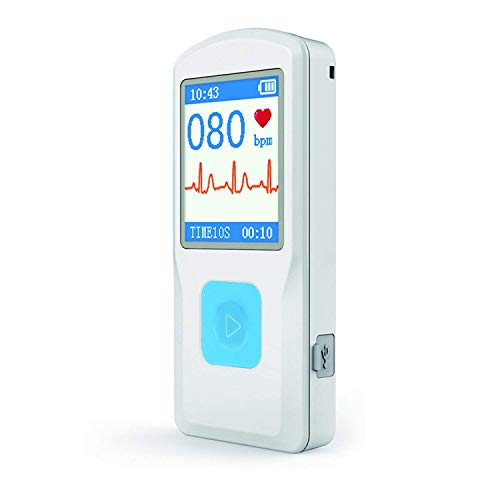 HEALTHWOOD Portable ECG/EKG Monitor Heart Rate Monitor with...