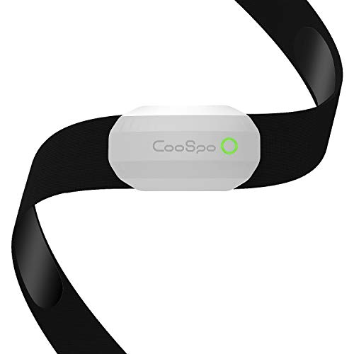 CooSpo Fitness Tracker Ant+ Heart Rate Monitor Chest Strap IP67...
