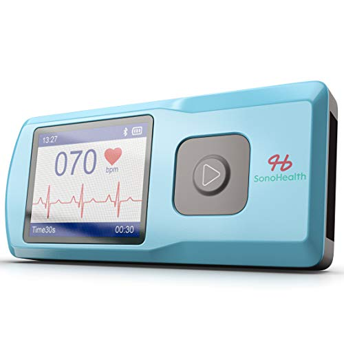 SonoHealth Portable EKG Heart Rate Monitor | Wireless Handheld...