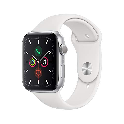 Apple Watch Series 5 (GPS, 44mm) - Silver Aluminum Case with...