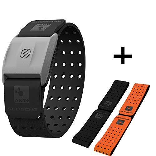 Scosche Rhythm+ Heart Rate Monitor Armband- Optical Heart Rate...