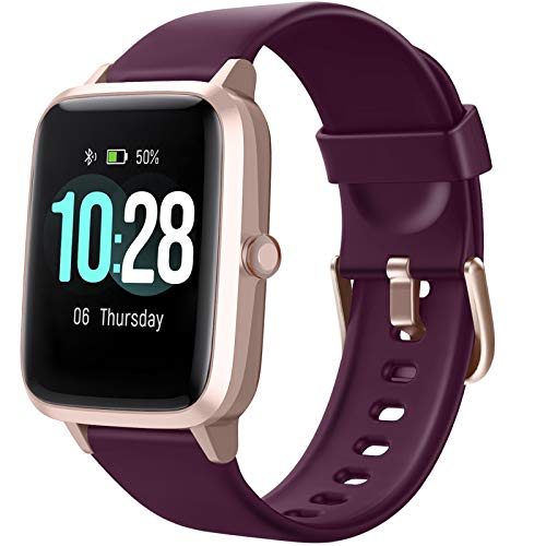Letsfit Smart Watch, Fitness Tracker with Heart Rate Monitor,...