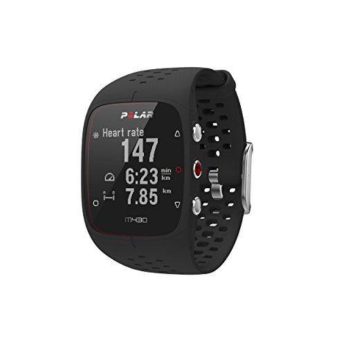 POLAR M430 GPS Running Watch, Black