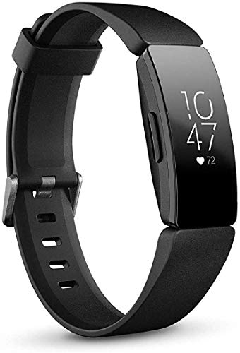 Fitbit Inspire HR Heart Rate and Fitness Tracker, One Size (S and...