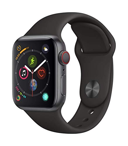 Apple Watch Series 4 (GPS + Cellular, 40mm) - Space Gray...