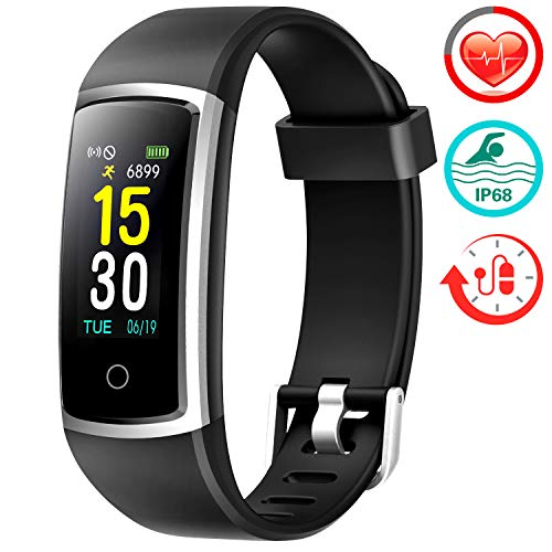 Fitness Tracker With Blood Pressure HR Monitor - 2019 Upgraded...