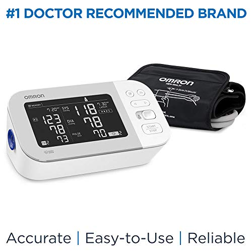 Omron Platinum Blood Pressure Monitor, Premium Upper Arm Cuff,...