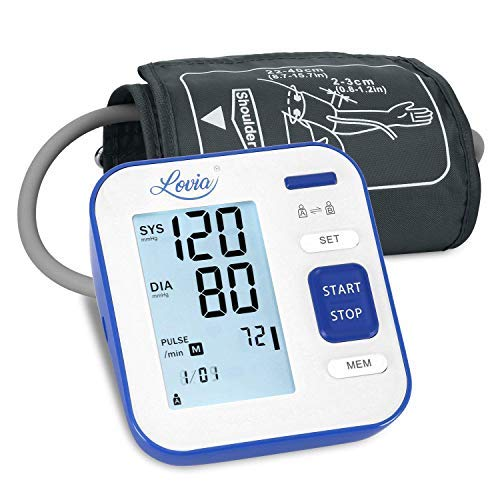 Blood Pressure Monitor Upper Arm, LOVIA Accurate Automatic...