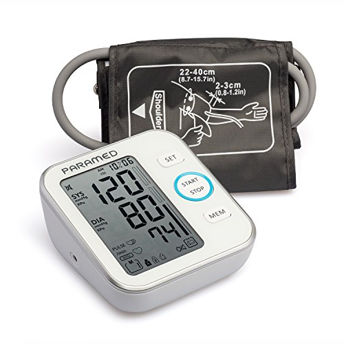 Paramed Blood Pressure Monitor Accurate Automatic Upper Arm Bp...