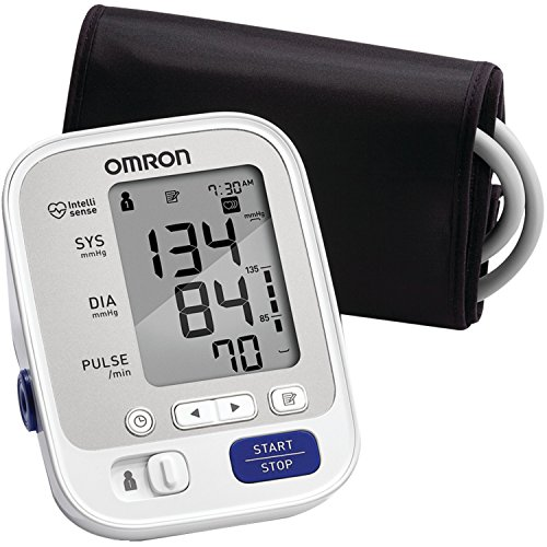 Omron 5 Series Upper Arm Blood Pressure Monitor; 2-User,...